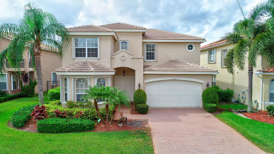 Boynton Beach Single Family Home For Sale: 11235 Millpond Greens Drive