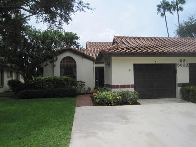 Boynton Beach Single Family Home For Sale: 5822 Brook Bound Lane #A
