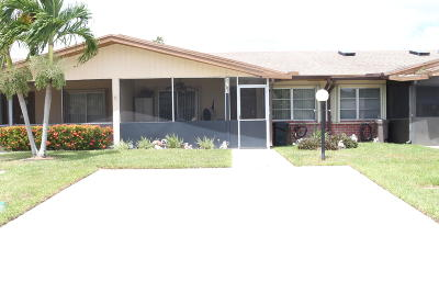 Delray Beach Single Family Home For Sale: 5757 Wanda Lane