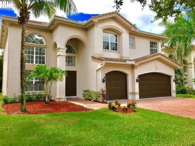 Boynton Beach Single Family Home For Sale: 10921 Sunset Ridge Circle
