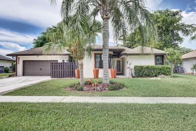 Delray Beach Single Family Home For Sale: 14915 Sunnyview Lane