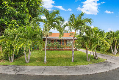 West Palm Beach Single Family Home For Sale: 3212 Alton Road