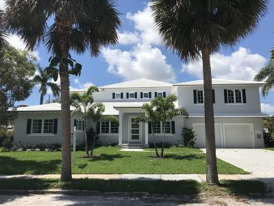 West Palm Beach Single Family Home For Sale: 224 Belmonte Road