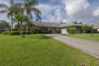 Fort Pierce Single Family Home For Sale: 903 Egret Avenue