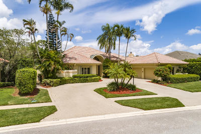 Boca Grove, Boca Grove Cc, Boca Grove Chateau, Boca Grove Los Reyos, Boca Grove Plantation, Boca Grove***gardens In The Grove***, Boca Grove/Chateau, Boca Grove/Coventry, Boca Grove/Gardens In The Grove Single Family Home For Sale: 7279 Valencia Drive