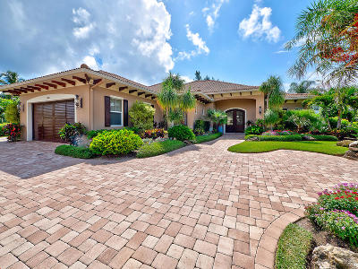 Jupiter Single Family Home For Sale: 1508 Ocean Way