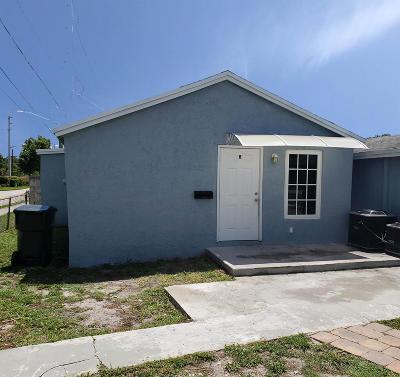 Stuart Rental For Rent: 701 SE Bahama Avenue #B