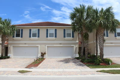 Greenacres Townhouse For Sale: 4508 Cohune Palm Court