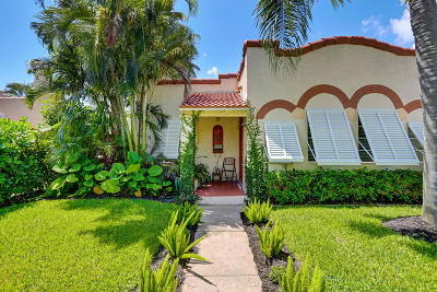 West Palm Beach Single Family Home For Sale: 344 Pilgrim Road