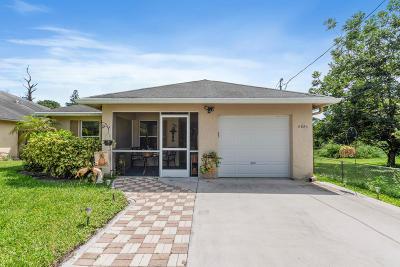 Jupiter Single Family Home Contingent: 6880 Australian Street