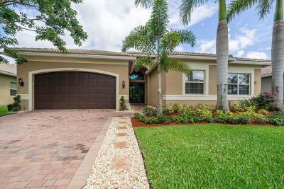 Boynton Beach Single Family Home For Sale: 12005 Fox Hill Circle