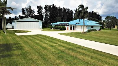 Boynton Beach Single Family Home For Sale: 10501 Denoeu Road