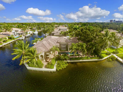 North Palm Beach FL Single Family Home Contingent: $3,495,000