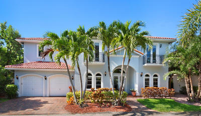 Palm Beach County Single Family Home For Sale: 916 Bermuda Gardens Road