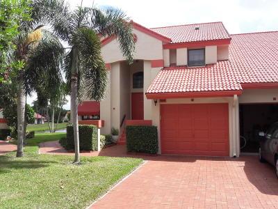 Delray Beach Condo For Sale: 7689 Lexington Club Boulevard #A