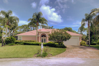 Hobe Sound Single Family Home For Sale: 7816 SE Windjammer Way