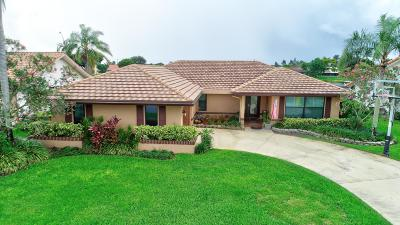 Boynton Beach Single Family Home Contingent: 2638 SW 23rd Cranbrook Court