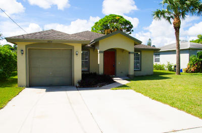 Jupiter Single Family Home Contingent: 6934 Mitchell Street