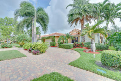 Boynton Beach Single Family Home For Sale: 6871 Fabiano Circle