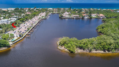 Ocean Ridge Townhouse For Sale: 6110 Ocean Boulevard #2