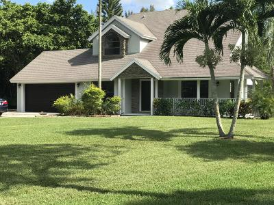 West Palm Beach Single Family Home For Sale: 11852 61st Street