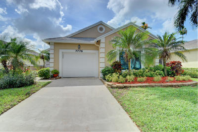 Delray Beach Single Family Home Contingent: 7776 Mansfield Hollow Road