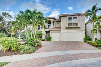 Palm Beach Gardens Single Family Home Contingent: 739 Cote Azur Drive