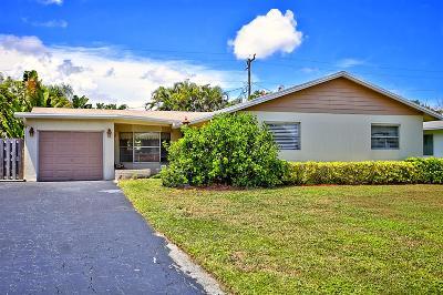 Palm Beach Gardens Single Family Home Contingent: 305 Camellia Street