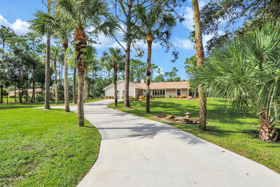 Jupiter Single Family Home For Sale: 11607 153rd Court