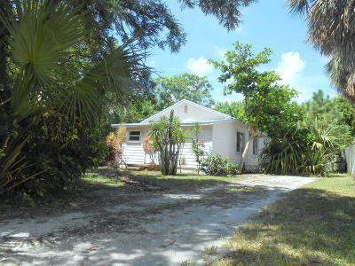 Lake Worth Single Family Home For Sale: 1217 S M Street