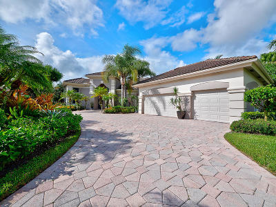 Palm Beach Gardens Single Family Home For Sale: 29 Somerset Drive