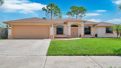 Royal Palm Beach Single Family Home Contingent: 110 Monterey Way