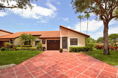 Delray Beach Single Family Home For Sale: 6135 Kings Gate Circle #59