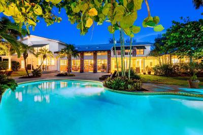 Broward County, Palm Beach County Single Family Home For Sale: 3268 Ocean Boulevard