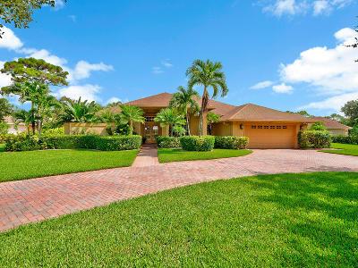 Stuart Single Family Home For Sale: 8158 SW Yachtsmans Drive