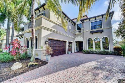 Boca Raton Single Family Home For Sale: 17768 Villa Club Way