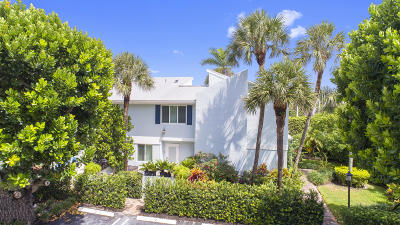 Delray Beach Townhouse For Sale: 1000 Ocean Terrace #2