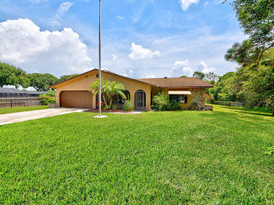 Fort Pierce Single Family Home For Sale: 4808 Silver Oak Drive