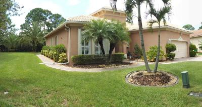 Fort Pierce Single Family Home For Sale: 5411 Place Lake Drive