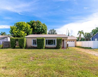 West Palm Beach Single Family Home For Sale: 356 Churchill Road