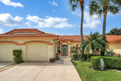 Delray Beach Townhouse For Sale: 8088 Summer Shores Drive