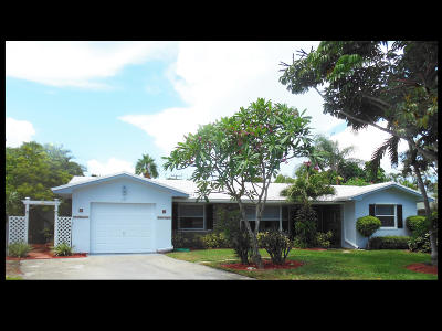Boynton Beach Single Family Home For Sale: 933 Chapel Hill Boulevard