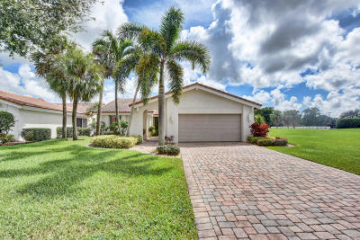 Boynton Beach Single Family Home Contingent: 5549 Lakeview Mews Drive