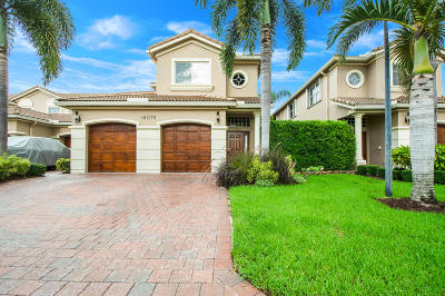 Delray Beach Townhouse Contingent: 16075 Sims Road #204