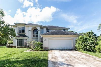 Loxahatchee Single Family Home For Sale: 15314 89th Place