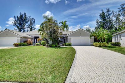 Boynton Beach Single Family Home For Sale: 7880 Rockford Road