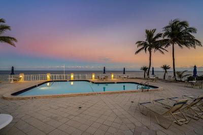 Palm Beach Condo For Sale: 3475 S Ocean Boulevard #Ph 7