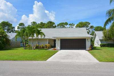 Stuart Single Family Home For Sale: 6635 SE Wigeon Court