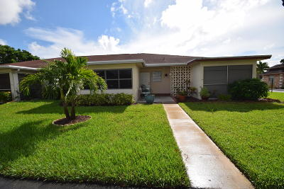 Delray Beach Single Family Home For Sale: 4515 NW 3rd Street #C