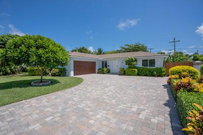 North Palm Beach Single Family Home For Sale: 608 Eastwind Drive
